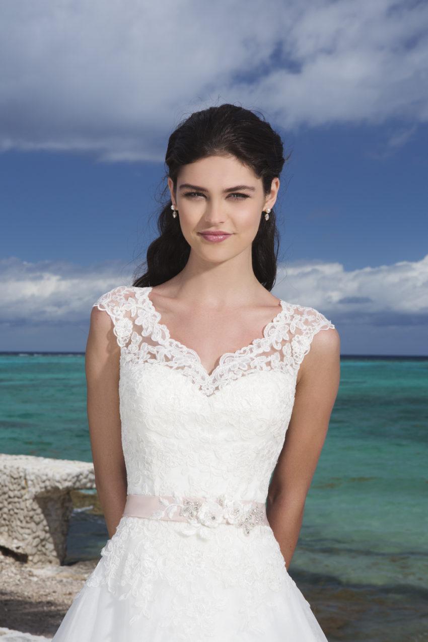 Romantisk brudklänning 027