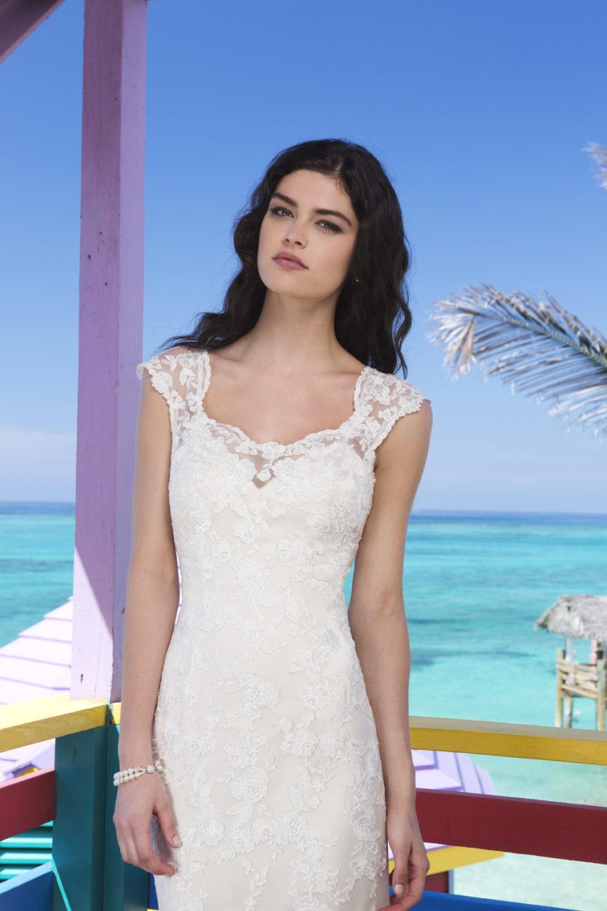 Romantisk brudklänning 028