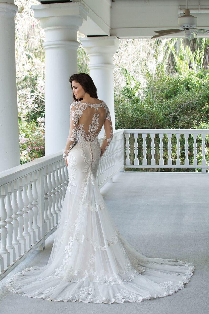 Romantisk brudklänning 2017 001