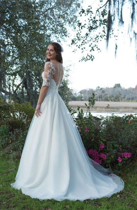 Romantisk brudklänning 2017 021