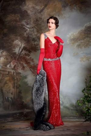 20-tal Vintage brudklänning 003
