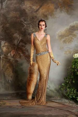 Vintage klänning 004