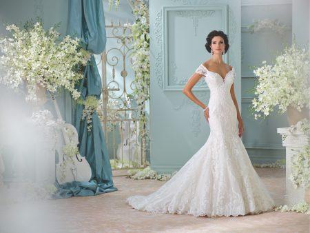 Exklusiv brudklänning EX022