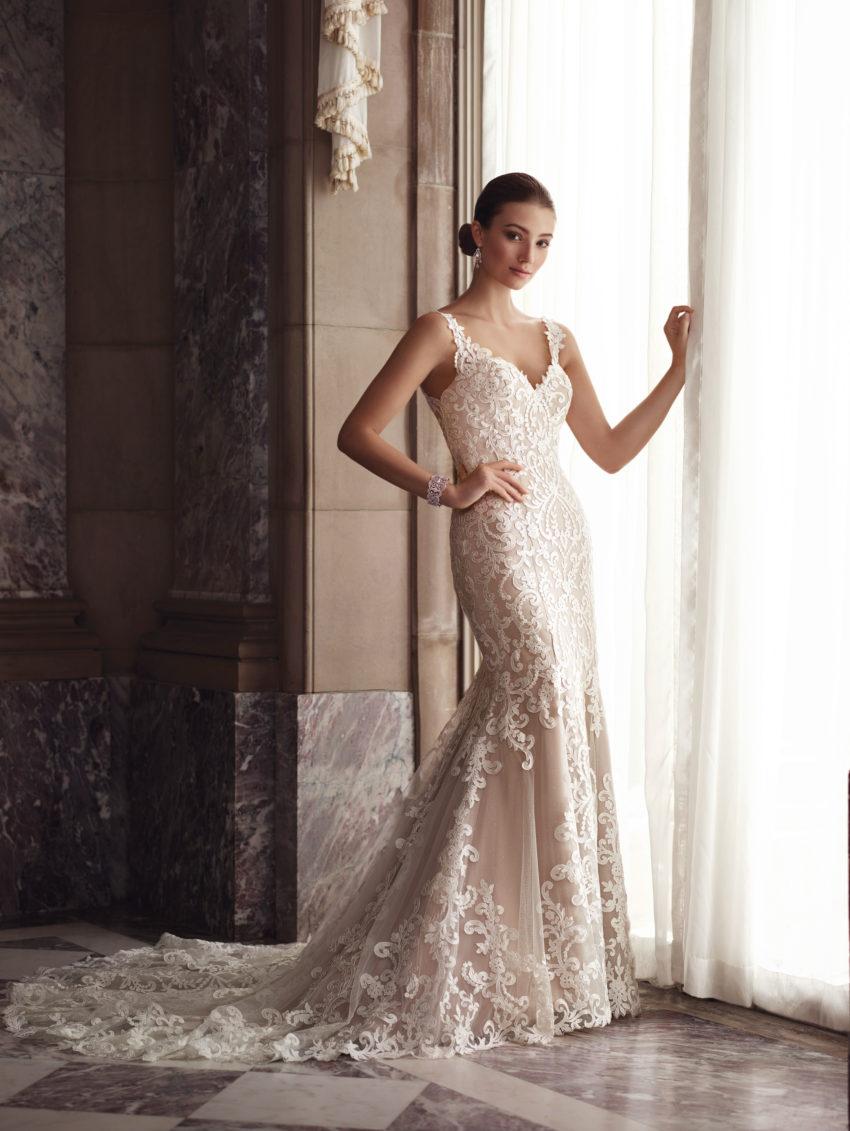 Exklusiv brudklänning EX013