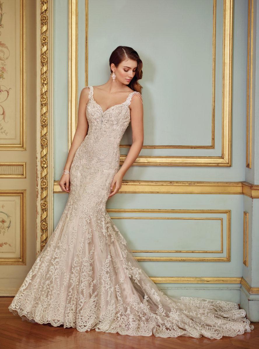 Exklusiv brudklänning EX011