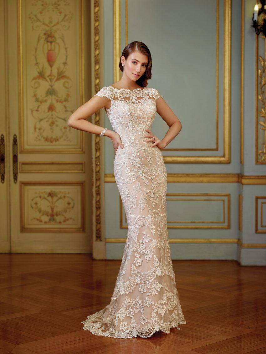 Exklusiv brudklänning EX009