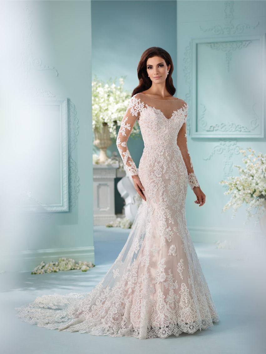 Exklusiv brudklänning EX021
