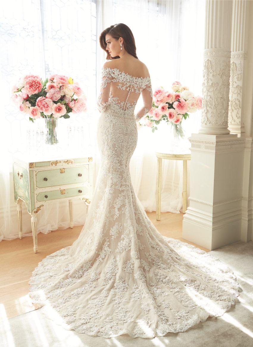 Exklusiv brudklänning EX017