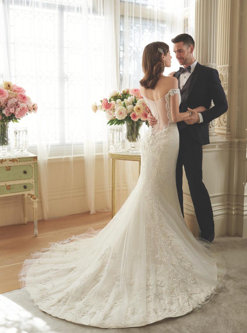 Exklusiv brudklänning EX006