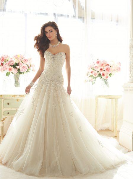 Exklusiv brudklänning EX015