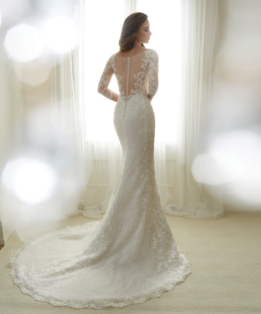 Exklusiv brudklänning EX003