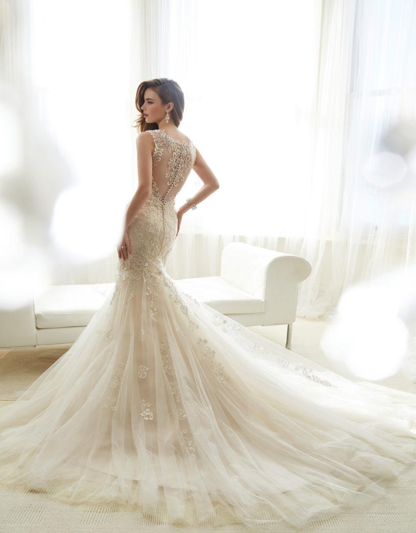 Exklusiv brudklänning EX004