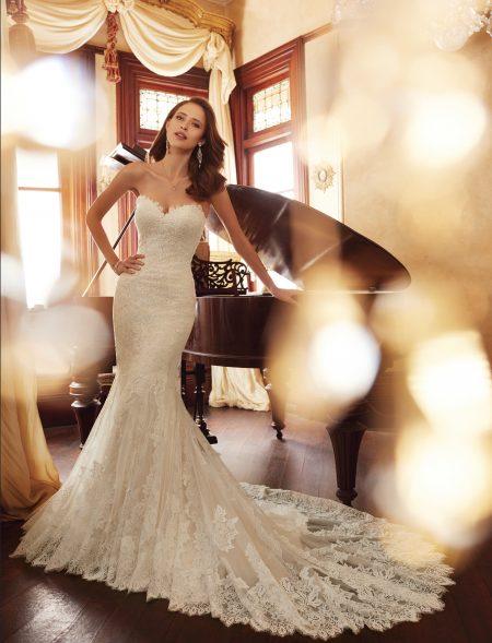 Exklusiv brudklänning EX007