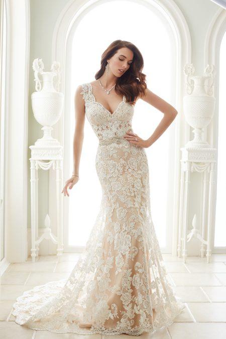 Exklusiv brudklänning EX001
