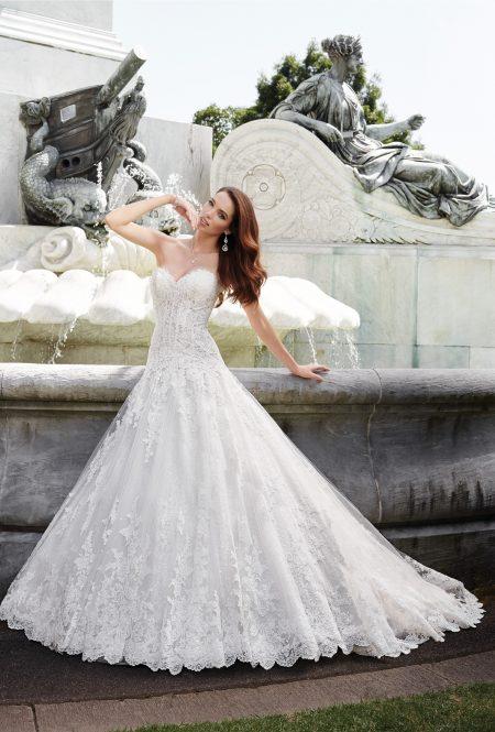 Exklusiv brudklänning EX014