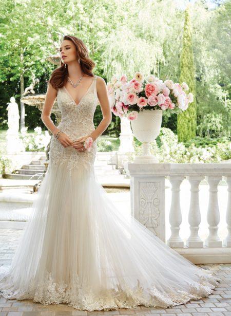 Exklusiv brudklänning EX005