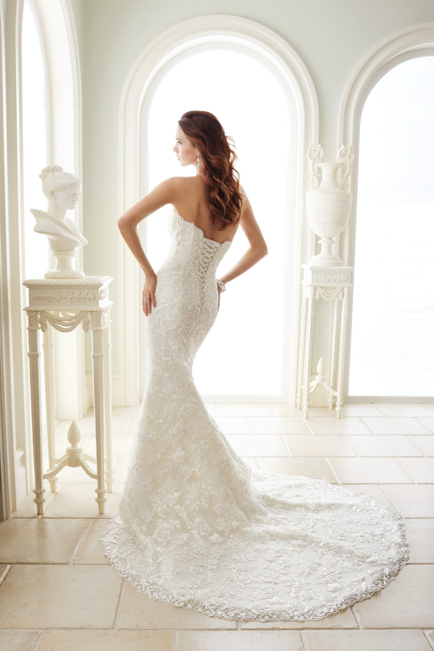 Exklusiv brudklänning EX002