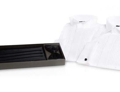 smokingskjorta-med-svart-kummberbundset
