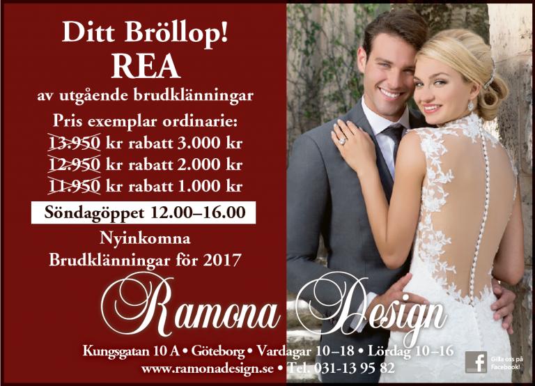 237c46f4342d Bröllopsklänningar rea erbjudande
