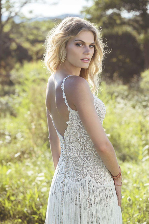 Ramona Design Bohemisk brudklänning