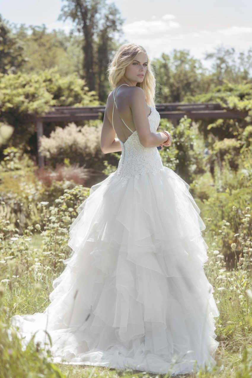 Bohemisk brudklänning B1802