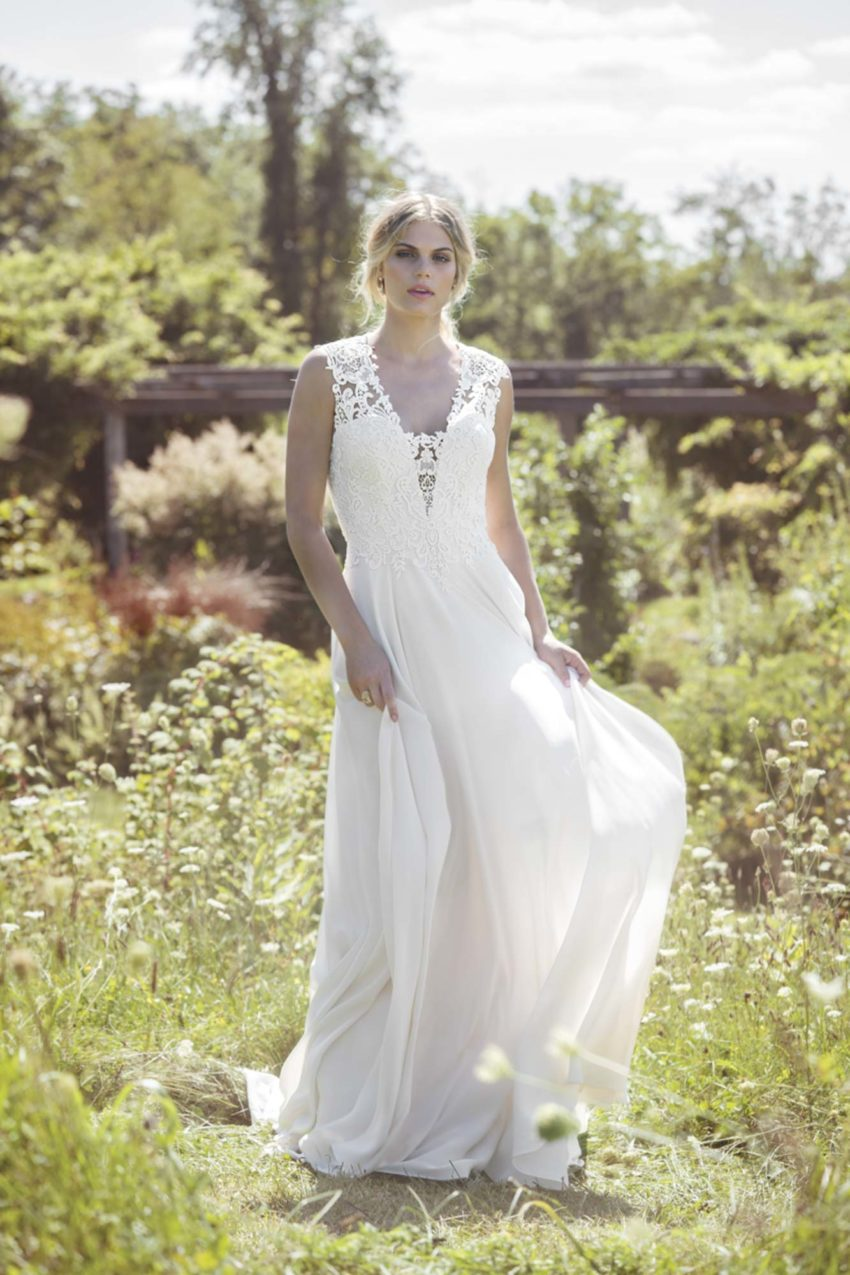 Bohemisk brudklänning B1804
