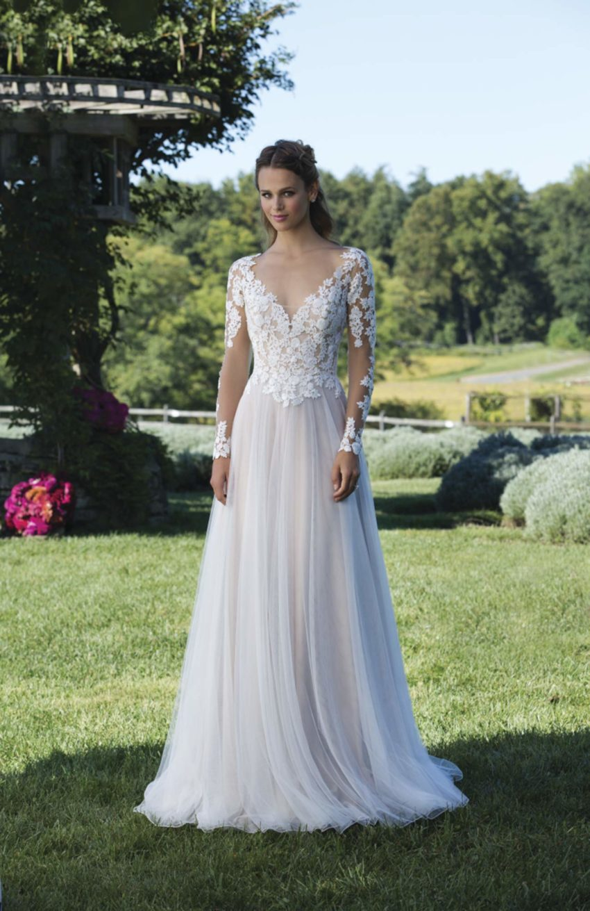 Romantisk brudklänning R1802