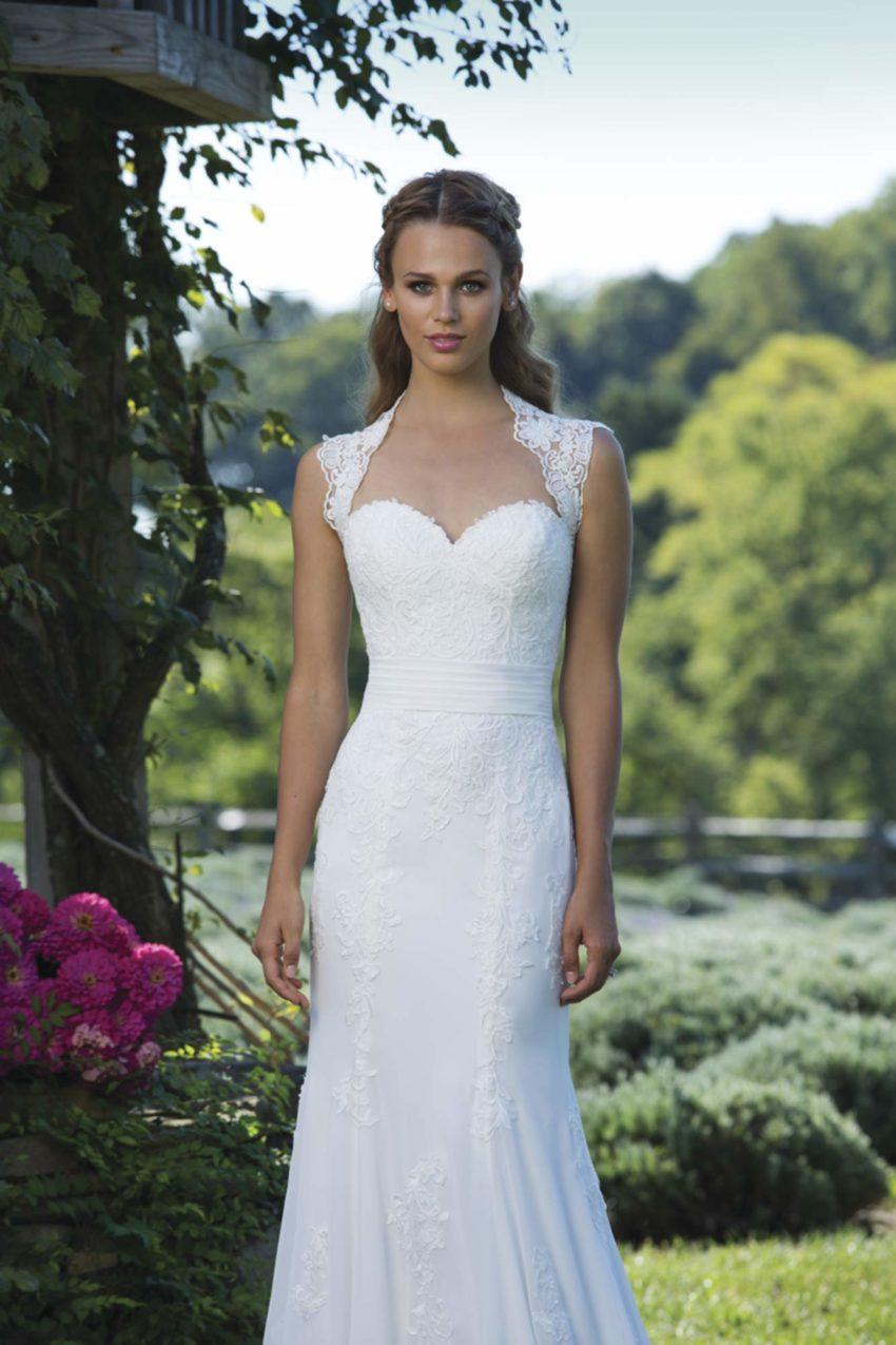 Romantisk brudklänning R1803