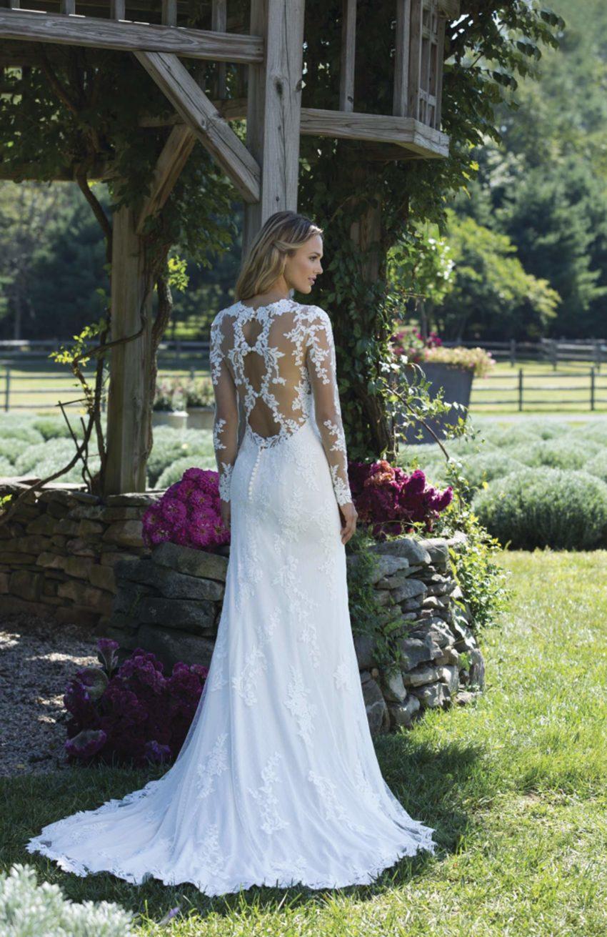 Romantisk brudklänning R1804
