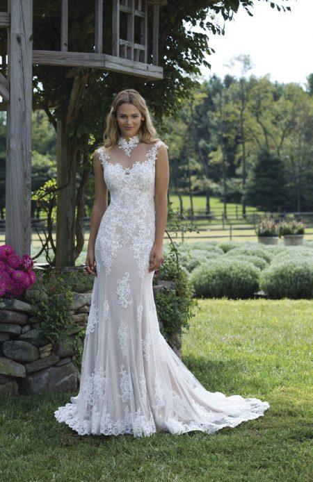 Romantisk brudklänning R1805