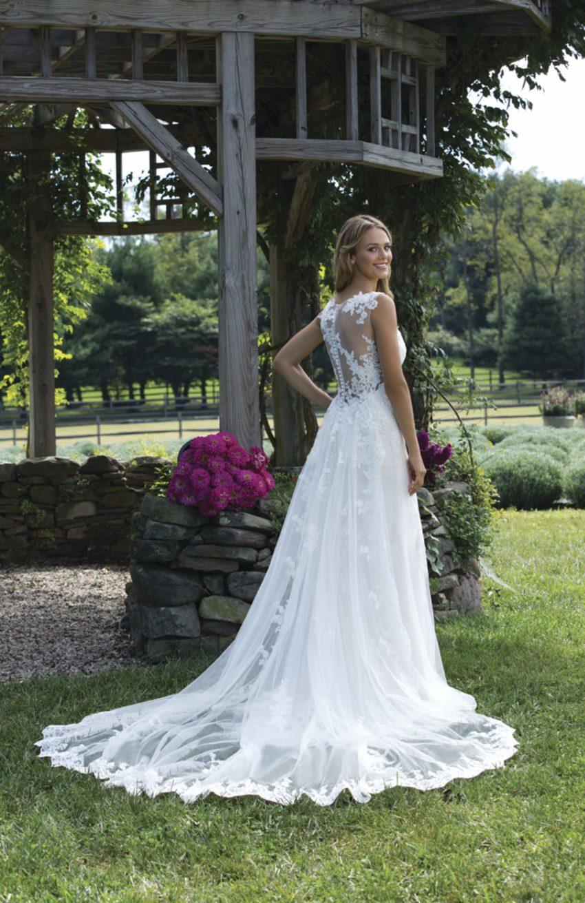Romantisk brudklänning R1806