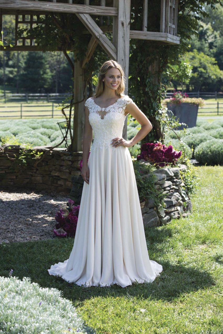 Romantisk brudklänning R1807
