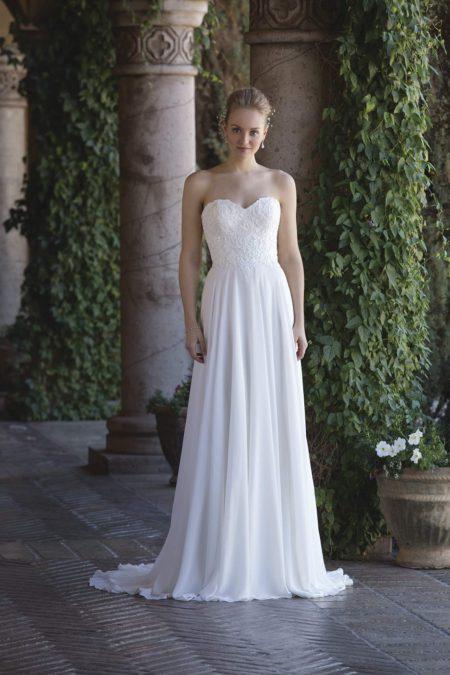 Romantisk brudklänning R1808