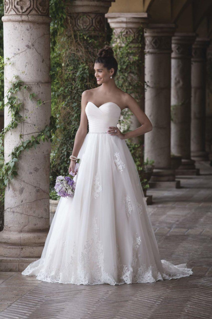 Romantisk brudklänning R1809