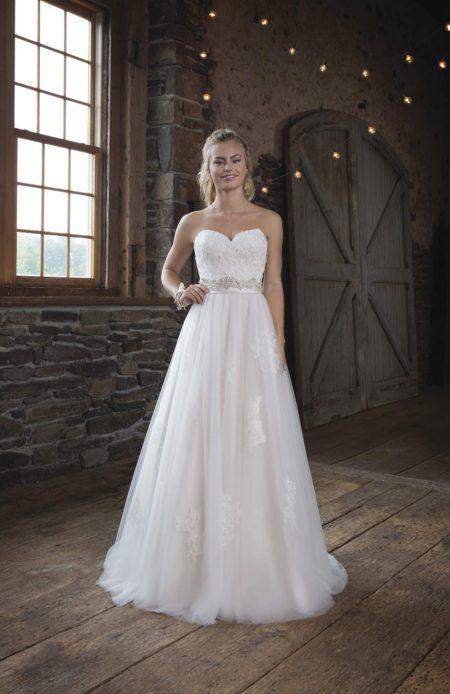 Romantisk brudklänning R1811