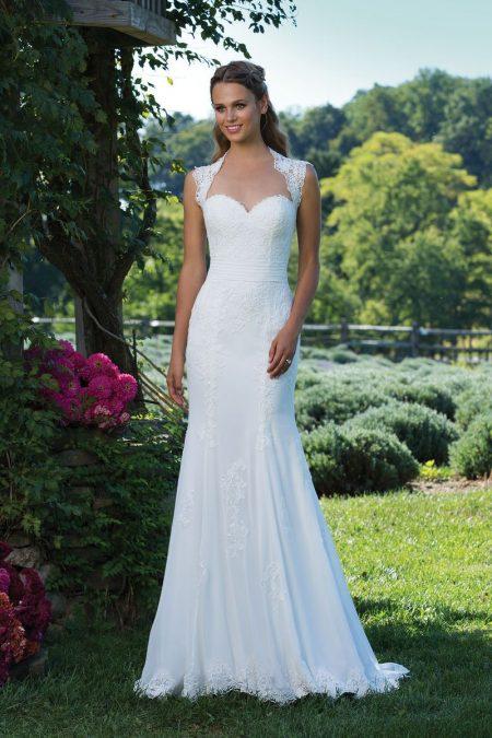 Enkel brudklänning EN1803