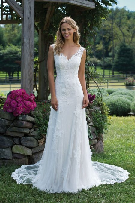 Enkel brudklänning EN1804