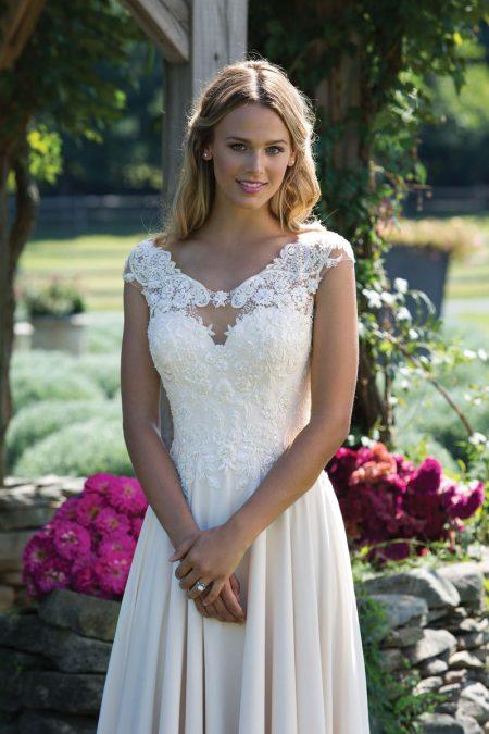 Enkel brudklänning EN1805