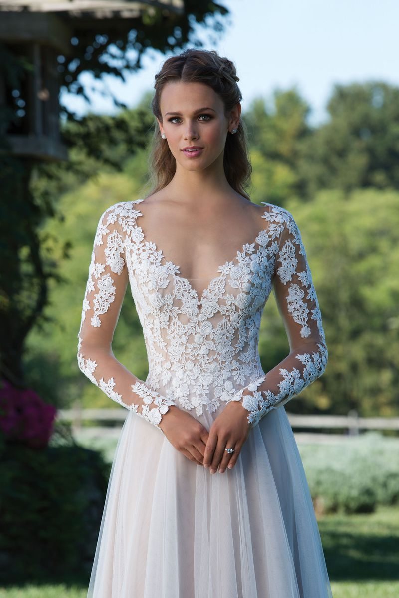 Enkel brudklänning EN1806