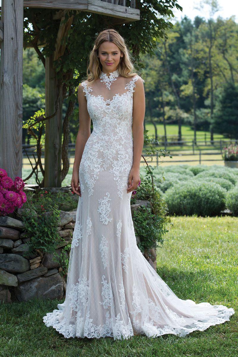 Enkel brudklänning EN1807