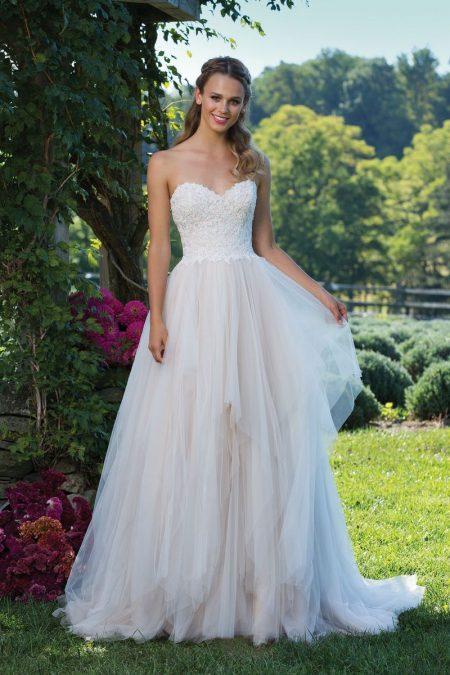 Enkel brudklänning EN1808