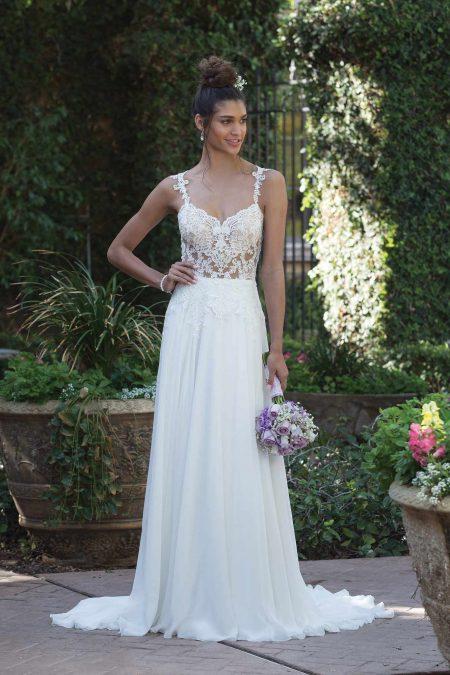 Enkel brudklänning EN1810