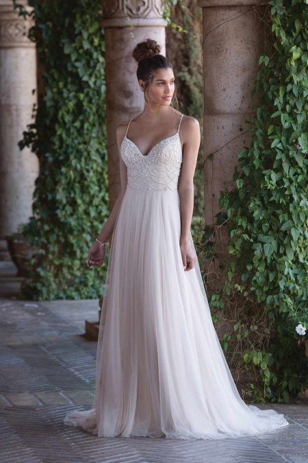 Enkel brudklänning EN1813