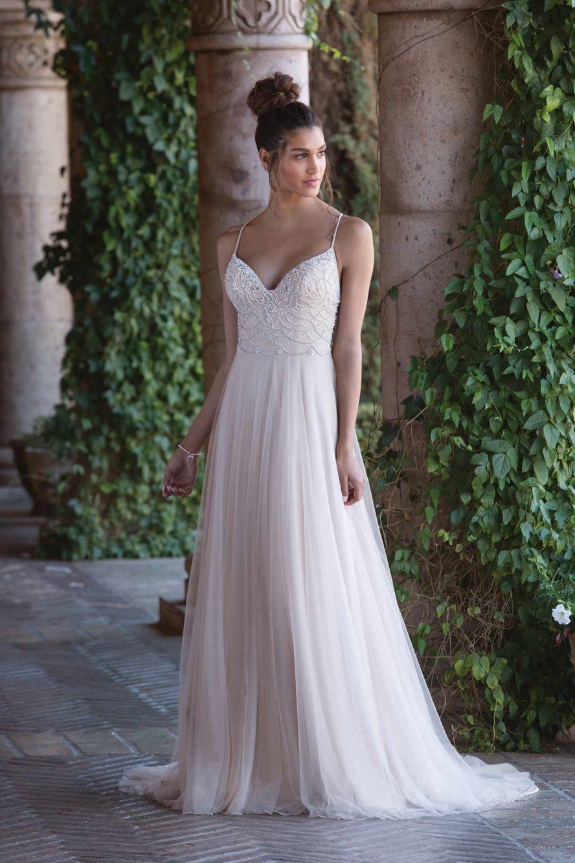 Ramona Design enkel brudklänning