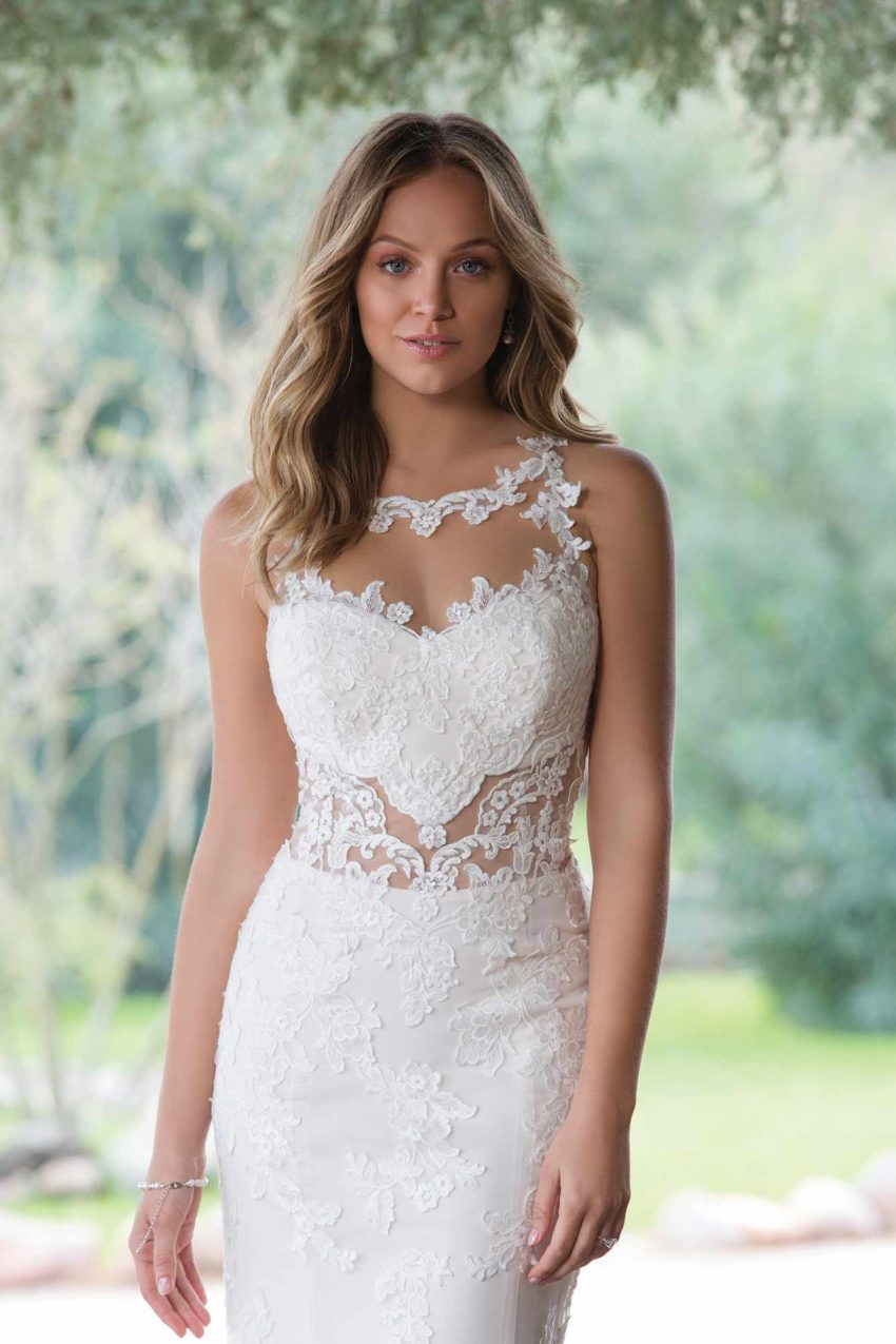Enkel brudklänning EN1815