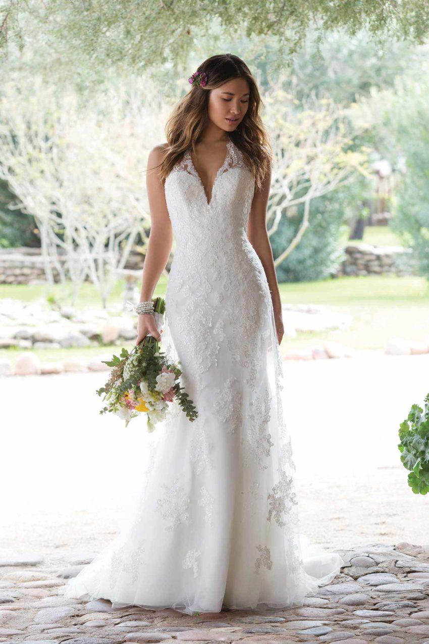Enkel brudklänning EN1816