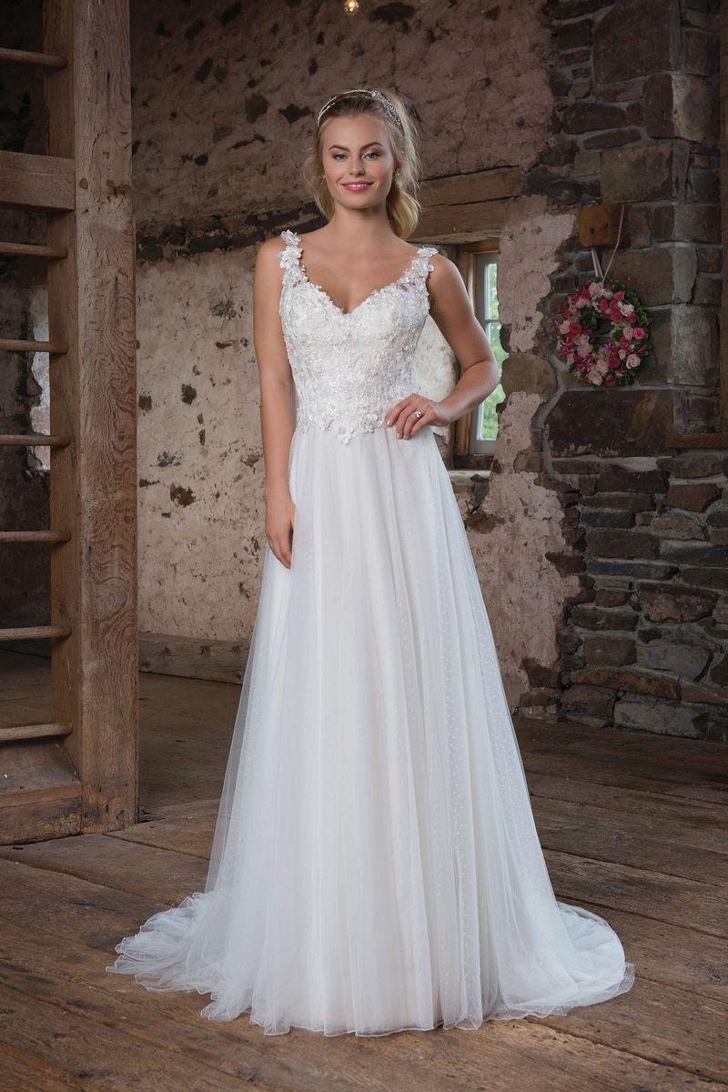 Romantisk brudklänning R1814