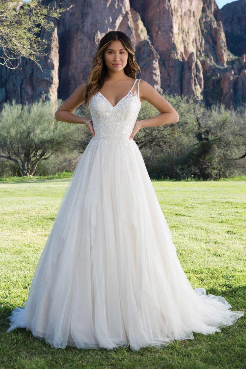 Romantisk brudklänning R1815