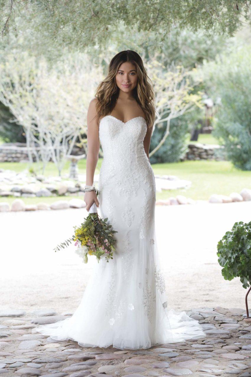 Romantisk brudklänning R1820