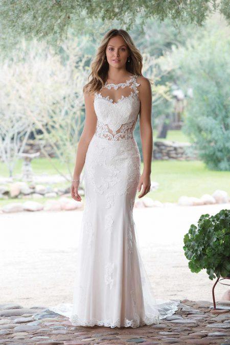 Romantisk brudklänning R1821